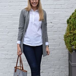 Sweaters - Gray Cashmere Sweater